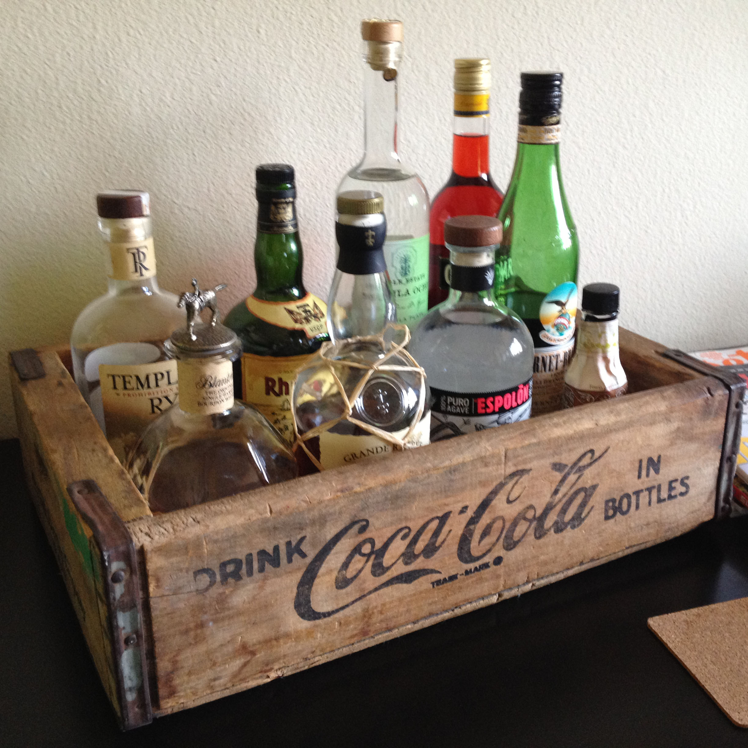 Organizing your home bar home bar basics and not so basics for How to set up a mini bar at home
